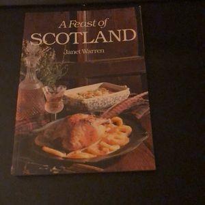 A Feast of Scotland cookbook